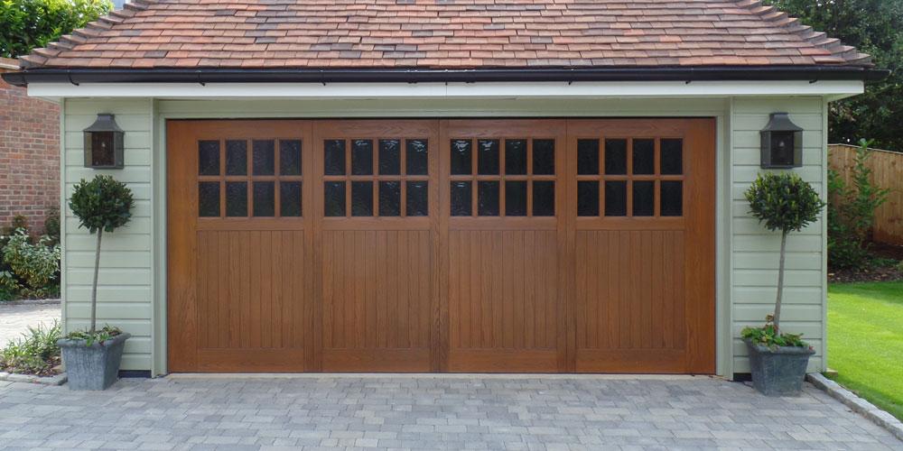 GRP Up and Over Garage Door