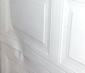 Garage Door Dent