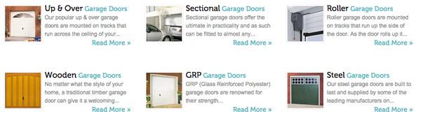 Garage door range