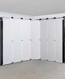 Insulation for garage doors
