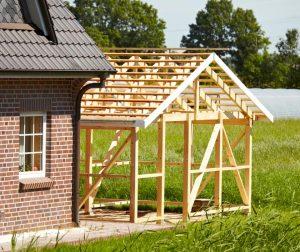 New garage structure
