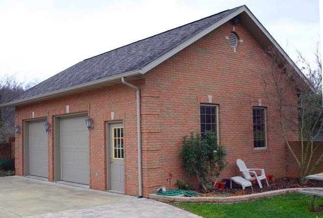 New build detached garages