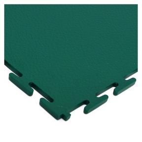 Green flooring tile