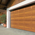 Wooden Sectional Garage Door