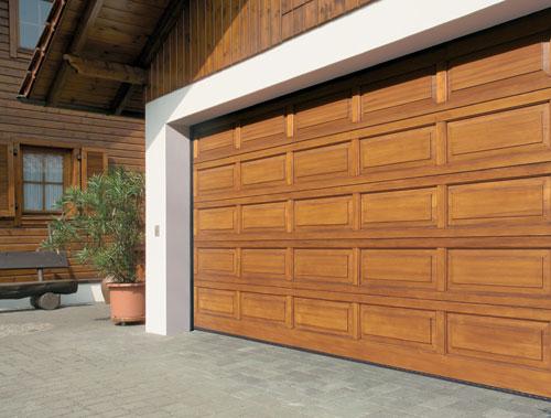 Wooden Sectional Garage Door