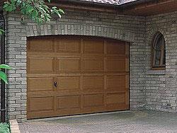 Wooden garage door - gallery image