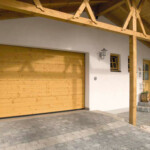 Wooden Roller Garage Door