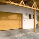 Wooden Roller Garage Door