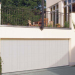 Steel garage door - gallery image
