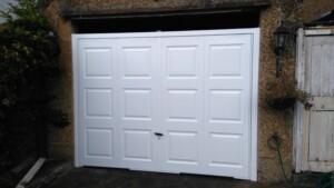After - newly installed Novoferm garage door