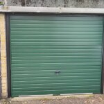 28 Racing Green Cardale Europa Garage Door