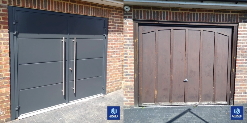 Before & After eckentrup Carteck GSW 40-L side-hinged