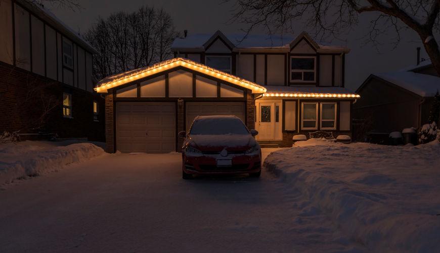 Festive Garage Door