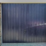 CDC Blue Verwood Garage Door