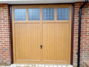 New Cotswold design garage door