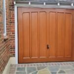 CDC Ashtead Canopy Golden Brown Garage Door