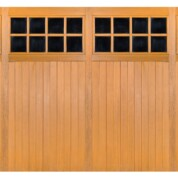 CDC Chertsey Double Garage Door