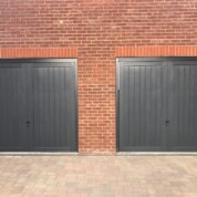 CDC Kingston Anthracite Up and Over Garage Door
