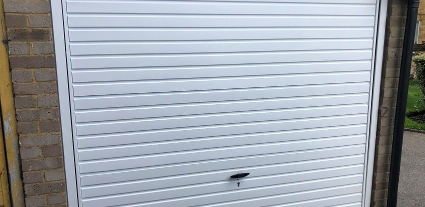 Cardale Steel Europa White Garage Door