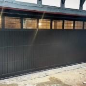 Cedar Door Timber Sectional Derwent Garage Door