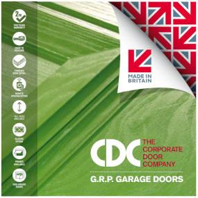 GRP Garage Doors 2018 Brochure - Front Page Image