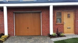 CDC's Verwood Design Garage Door in Honey Beech