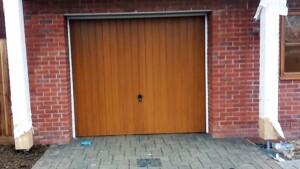 CDC's Verwood' design Single Garage Door