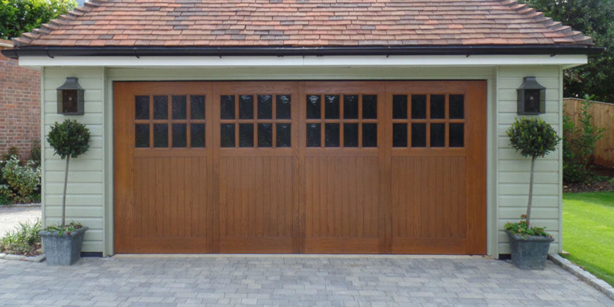 GRP Up and Over Garage Door