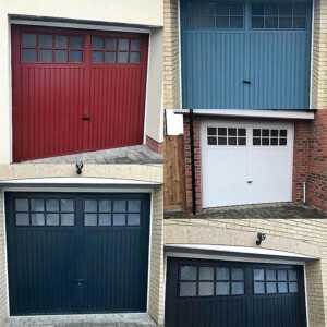 A selection of Novoferm Berwick Steel Garage Doors