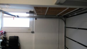Novoferm Flush Sectional Garage Door Interior