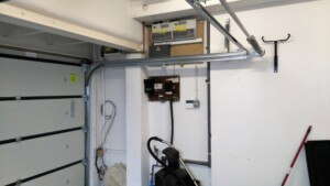 Novoferm Flush Sectional Garage Door Interior Mechanics