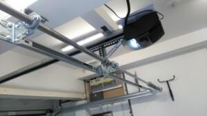 Novoferm Flush Sectional Garage Door Interior Overhead