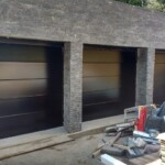 Novoferm Flush Smooth Black Garage Door