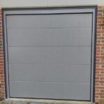 Novoferm Flush Smooth Grey Aluminium