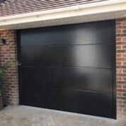 Novoferm Insulated Sectional Garage Door with Electric Operator