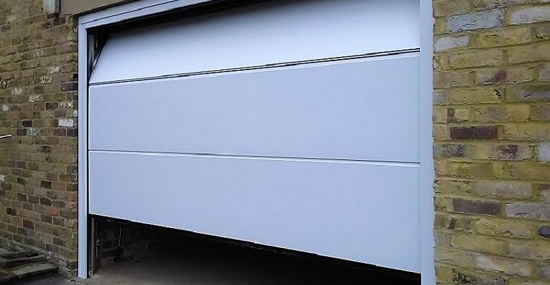 Novoferm Flush White Garage Door