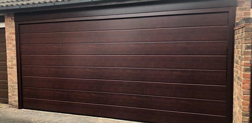 Novoferm Insulated Vertical Lift Garage Door