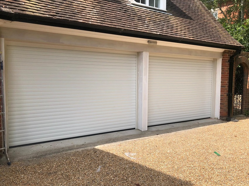 Novoferm Insulated White Roller Garage Door