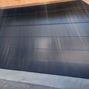Novoferm Flush Anthracite Grey Automated Garage Door