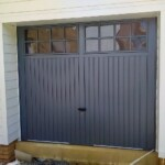 Novoferm Steel Berwick Anthracite Grey Garage Door