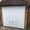 Novoferm White Retractable Up-and-Over Garage Door