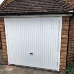 Novoferm White Retractable Up-and-Over Garage Door
