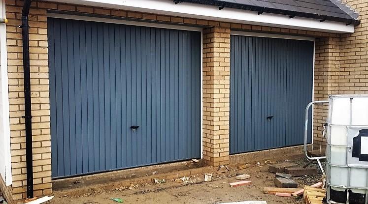 Novoferm Steel Thornby Grey Garage Door