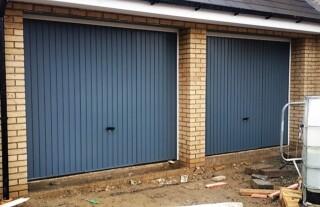 Lock for garage door
