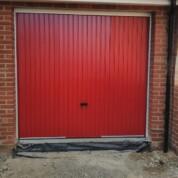 Novoferm Red Steel Up and Over Thornby Garage Door