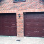 Novoferm sectional garage door