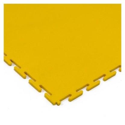 Yellow flooring tile
