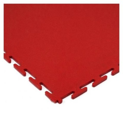 Red flooring tile