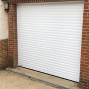 SWS Securoglide Classic White Roller Garage Door