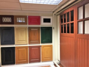 Wessex Garage Doors Showroom Garage Door Selection